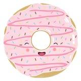 Iced Doughnut Stock Photography