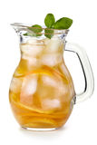 Iced drink stock image