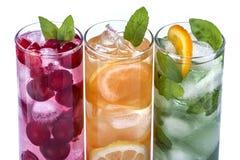 iced drinkar Royaltyfri Fotografi