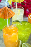 Iced Drinks Stock Photography