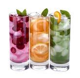 Iced drinks Stock Photos