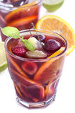 Iced drinks Stock Images