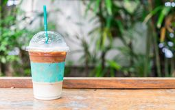 iced expresso coffee stock image