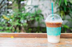 iced expresso coffee royalty free stock photo