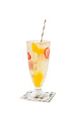 Iced fuzzy peach Royalty Free Stock Image