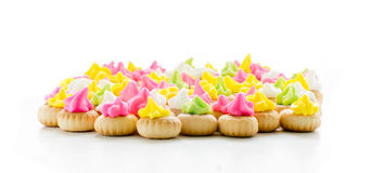 Iced Gems Biscuit Royalty Free Stock Photo