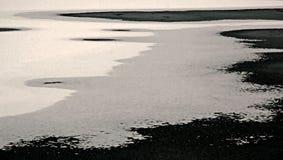 Iced hav Fotografering för Bildbyråer