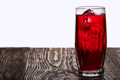 Iced hibiscus tea (rosella) Stock Photos