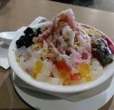 Iced Kacang. Refreshing iced dessert stock images