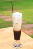 Iced kaffe royaltyfri fotografi