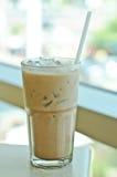 Iced kaffe. arkivbild