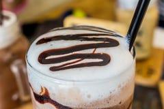 iced kaffe Fotografering för Bildbyråer