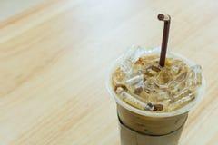 iced kaffe Arkivbild