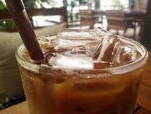 iced kaffe Arkivfoto