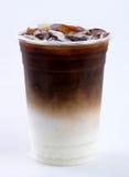 Iced latte royaltyfria foton