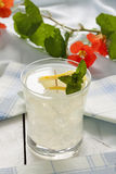 Iced Lemon Drink Royalty Free Stock Photos