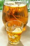 Iced Lemon Ice Tea Stock Photos