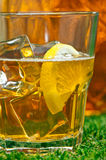 Iced Lemon Ice Tea Royalty Free Stock Photos
