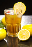 Iced lemon tea Stock Images