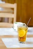 Iced lemon tea Royalty Free Stock Photos