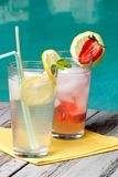 Iced lemonade Stock Photography