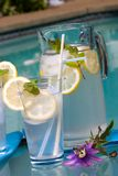 Iced lemonade Stock Photos