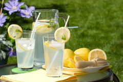 Iced lemonade Royalty Free Stock Image