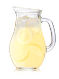 Iced lemonade pitcher Stock Photography