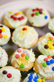 Iced Lolly Cupcakes Stock Image