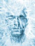 Iced man Royalty Free Stock Image
