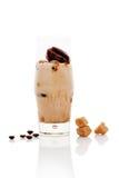 Iced milk coffee. Stock Photos