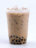 Milk tea with bubble Stock Photo