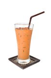 Iced milk tea Royalty Free Stock Images