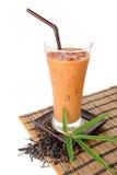 Iced milk tea Stock Photography