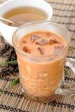 Iced milk tea Stock Photo