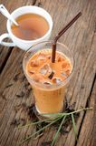 Iced milk tea Royalty Free Stock Photography