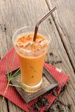 Iced milk tea Stock Image