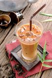 Iced milk tea Royalty Free Stock Image