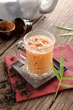 Iced milk tea Royalty Free Stock Photos