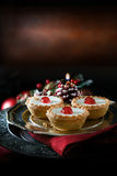 Iced Mince Pies Stock Image