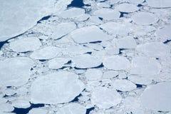 Iced Ocean Stock Photo