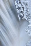 Iced Orangeville Creek Cascade Royalty Free Stock Images