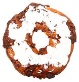 Iced Pecan Ring Stock Images