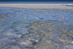 Iced sea. Stock Images