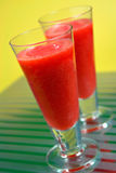 Iced Strawberry Daiquiri royalty free stock photos