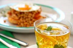 iced tea Royaltyfri Bild