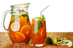 iced tea Royaltyfria Bilder