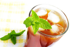 iced tea Arkivbilder