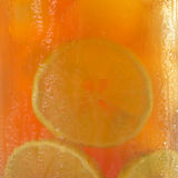 Iced Tea as Background Stock Image