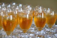 Iced tea beverages stock photos